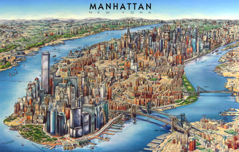 3d map of manhattan click to enlarge